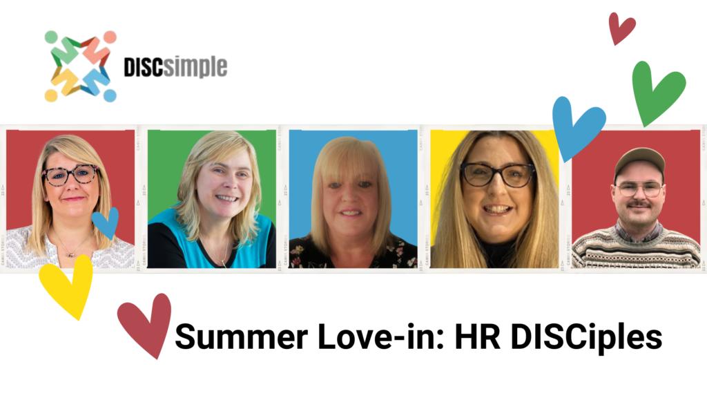Our Lovely HR Disciple Team