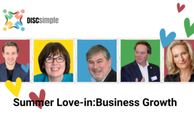 Our DISCiples Summer Love-In: Business Growth