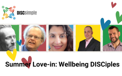 Our DISCiples Summer Love-In: Wellbeing